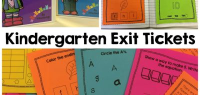 Using Exit Tickets in Kindergarten
