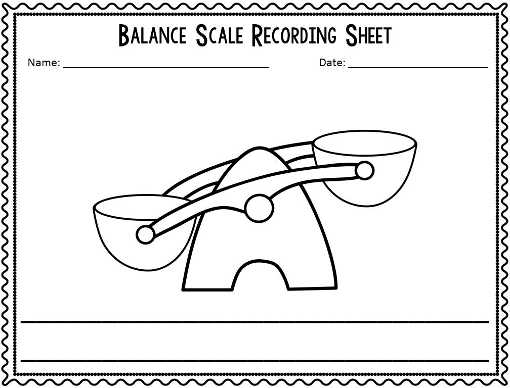 kindergarten measurement activities kteachertiff. Black Bedroom Furniture Sets. Home Design Ideas