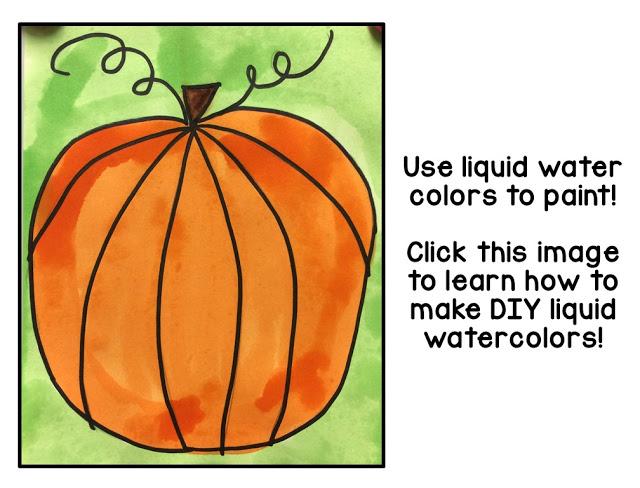 pumpkin directed drawings