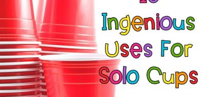 10 Ingenious Ways to Use Solo Cups in the Classroom