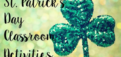 St. Patrick's Day Classroom Activities and Freebie