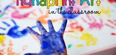 Seasonal and Holiday Handprint Writing in Kindergarten