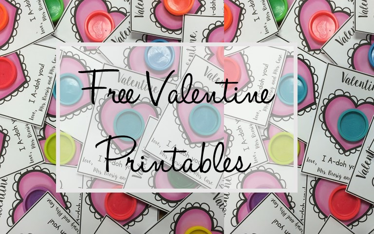 photo about Play Dough Valentine Printable identify Totally free Printable Perform Doh Valentines - KTeacherTiff
