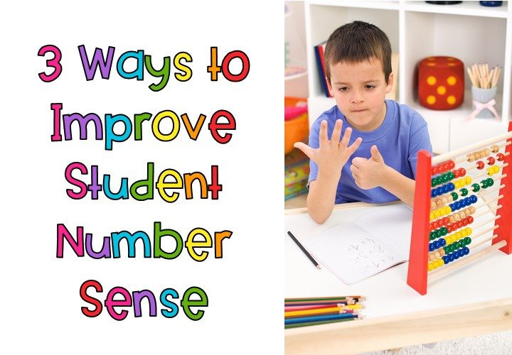 3 Ways to Improve Number Sense