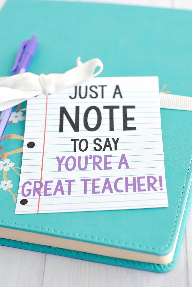 Teacher Appreciation Gifts and Printables - KTeacherTiff